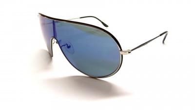 Lunettes de soleil Police S 8639 K07B Noir et verre miroité bleu 75,00 €