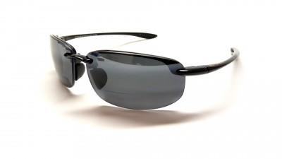 Maui Jim Ho'Okipa MauiReader® G807 02 Correction +2,50 Noir brillant Verres gris polarisés et miroirs 131,58 €