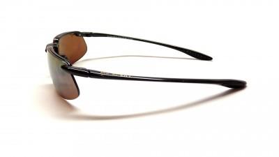 Maui Jim Kanaha H409 02 Noir brillant Verres HCL® Bronze Polarized