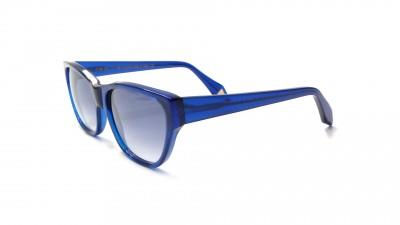Lunettes de soleil Victoria Beckham Unswept Inlay VB0148 Bleu Verres dégradés  69,32 €