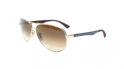 Ray-Ban Fibre Carbon Gold RB8313 001/51 58-13 104,08 €