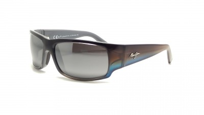 Sonnenbrillen Maui Jim World Cup 266 03F Grau Polarisiert 188,32 €