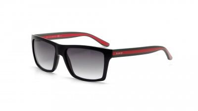 Gucci Ruban Rouge GG 1013 S 51N PT Noir, vert et rouge Verres dégradés 140,83 €