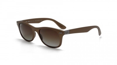Ray-Ban New Wayfarer Liteforce Braun RB4207 6033/T5 52-17 Polarisierte Gläser 124,92 €