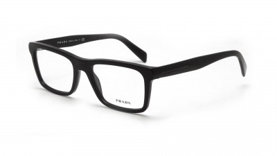 Prada Plaque PR 06RV 1BO 1O1 Noir mat Medium 93,25 €