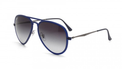 Ray-Ban Aviator Light Ray Blau Matt RB4211 895/8G 56-17 121,67 €
