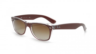 Ray-Ban New Wayfarer Metall Effekt Braun RB2132 6145/85 55-18 79,08 €