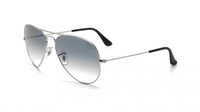 Ray-Ban Aviator Large Metal Silber RB3025 003/3F 58-14