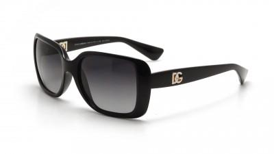 Dolce & Gabbana DG 6093 501 T3 Noir Verres polarisés dégradés Large 66,58 €