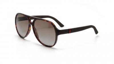 Gucci Ruban GG 1065 S 4UR LA Écaille Verres polarisés dégradés Large 141,24 €