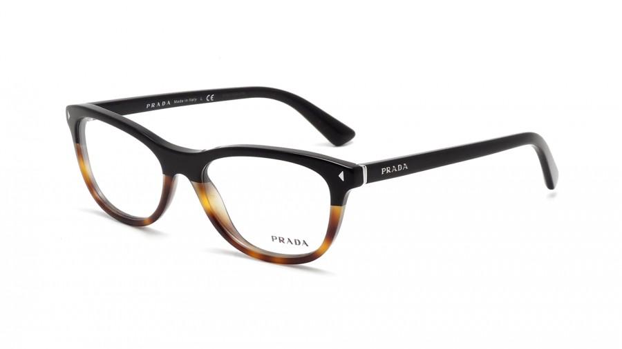 PRADA Prada Damen Brille »JOURNAL PR 05RV«, schwarz, TKA1O1 - schwarz