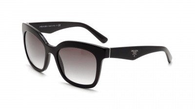 Prada Triangle PR 24QS 1AB 0A7 Noir Verres dégradés Medium 122,42 €