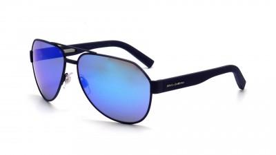 Dolce & Gabbana DG 2149 1273 25 Bleu Verres miroirs Medium 116,58 €