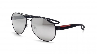 Prada PS 55QS Grey Rubber TIG 2B0 Grau Mirrored Gläser Medium 55,53 €