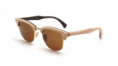Ray-Ban Clubmaster Wood Braun RB3016M 1179 51-21 149,92 €