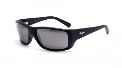 Maui Jim 123 Wassup Grey 02W Schwarz Glasfarbe polarisiert Medium 200,22 €