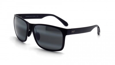 Maui Jim 432 Red Sands Neutral Grey 2M Schwarz Mat Glasfarbe polarisiert Medium 273,70 €
