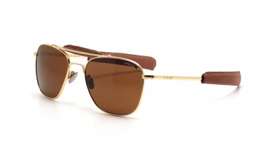 Randolph AT51632 TNLTHR Aviator II 23K Gold Polarisiert Medium 322,29 €