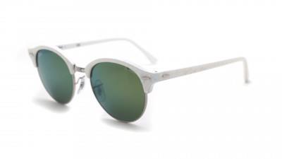Ray-Ban Clubround Weiß RB4246 988/2X 51-19 91,58 €