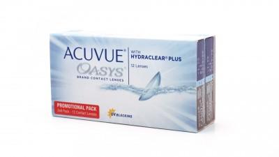 Lentilles de contact Acuvue Oasys Bi Mensuelles 12L 27,42 €