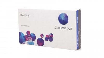 Lentilles de contact Biofinity Mensuelles 6L 19,08 €