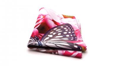 Visio microfibre romantique Schmetterling Rosa M03 2,88 €