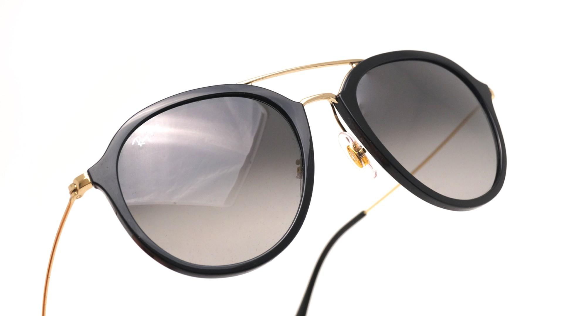 f50df03ebe23a Sonnenbrillen Ray-Ban Schwarz RB4253 601 71 53-21 Mittel Gradient Gläser