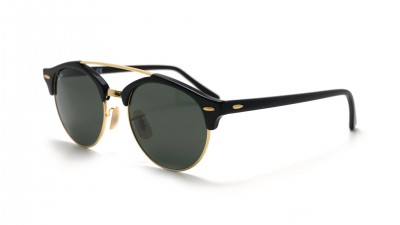Ray-Ban Clubround Double Bridge Schwarz RB4346 901 51-19 74,92 €