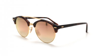 Ray-Ban Clubround Double Bridge Tortoise RB4346 990/7O 51-19 91,58 €