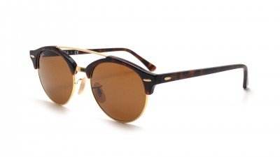 Ray-Ban Clubround Double Bridge Tortoise RB4346 990/33 51-19 80,75 €