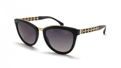 Chanel Chaîne Schwarz CH5361Q C501S8 55-19 Polarized Degraded 366,67 €