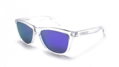 Oakley Frogskins Polished Clear OO 9013 24 305 Glasfarbe violets Iridium 89,25 €