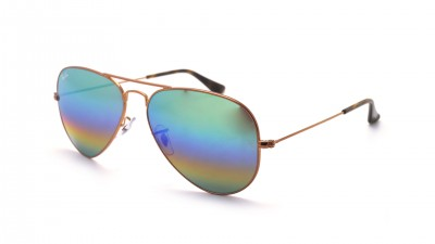Ray-Ban Aviator Large Metal Rainbow Gold Matt RB3025 9018/C3 58-14 87,42 €