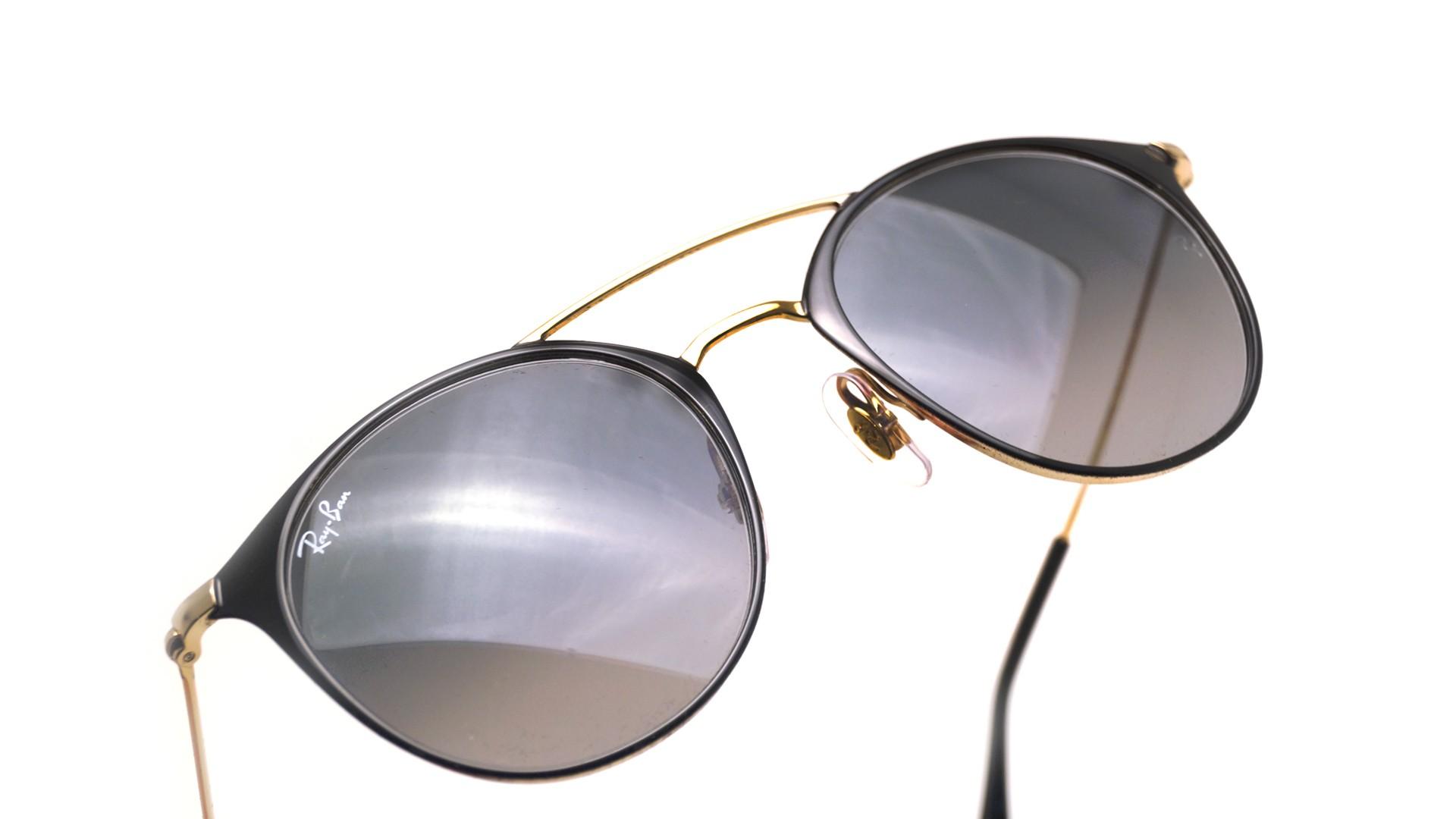 Sonnenbrillen Ray-Ban Schwarz RB3546 187 71 49-20 Schmal Gradient Gläser 6362332642