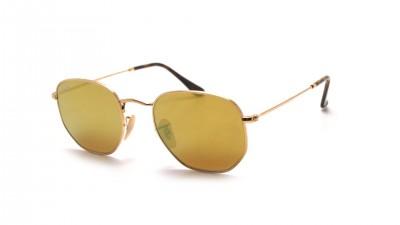 Ray-Ban Hexagonal Flat Lenses Gold RB3548N 001/93 51-21 104,03 €