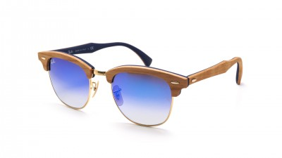 Ray-Ban Clubmaster Wood Braun Matt RB3016M 11807Q 51-21 155,83 €