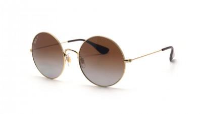 Ray-Ban Ja-jo Gold RB3592 001/T5 55-20 Polarisierte Gläser 91,58 €