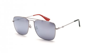 Gucci GG0108S 005 55-16 Silber 247,82 €