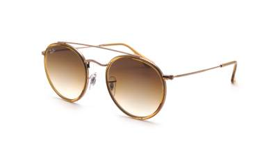 Ray-Ban Round Double Bridge Braun RB3647N 9070/51 51-22 Gradient 86,58 €