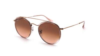 Ray-Ban Round Double Bridge Rosa RB3647N 9069/A5 51-22 Gradient 86,58 €