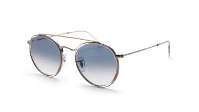 Ray-Ban Round Double Bridge Klar RB3647N 9068/3F 51-22 Gradient 86,58 €