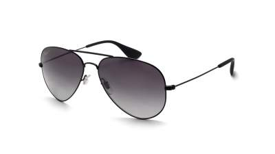 Ray-Ban Aviator Schwarz RB3558 002/T3 58-14 Polarized Gradient 96,58 €