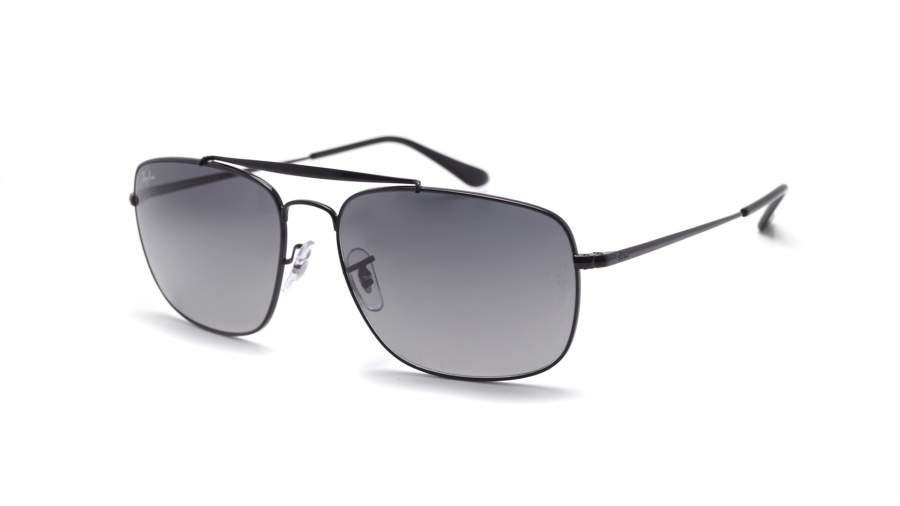 RAY BAN RAY-BAN Herren Sonnenbrille »THE COLONEL RB3560«, schwarz, 002/71 - schwarz/grau