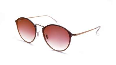 RAY BAN RAY-BAN Damen Sonnenbrille »Blaze Round RB3574N«, rosa, 9035V0 - rosa/rot