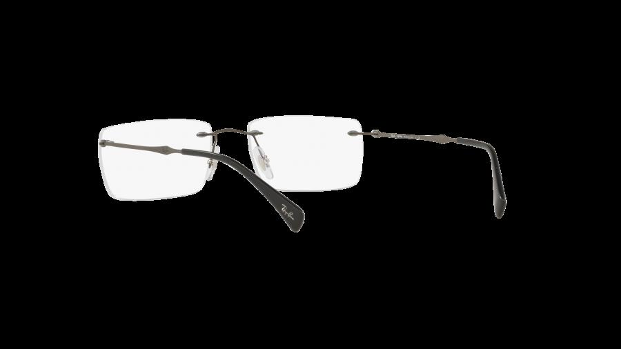 RAY BAN RAY-BAN Herren Brille » RX8755«, grau, 1128 - grau