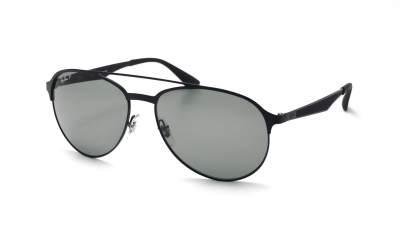 Ray-Ban RB3606 186/9A 59-16 Schwarz Matt Polarisierte Gläser 147,66 €