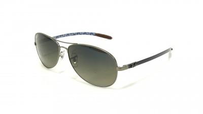 Ray-Ban Fibre Carbon Grau RB8301 029/98 59-14 Polarisierte Gläser 120,83 €